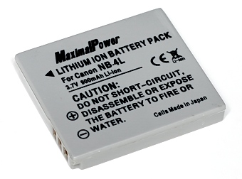MaximalPower NB-4L 900mAh