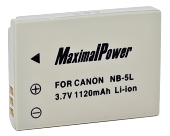 MaximalPower NB-5L 1120mAh