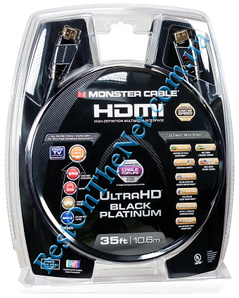 HDMI Monster Cable (UltraHD Black Platinum)