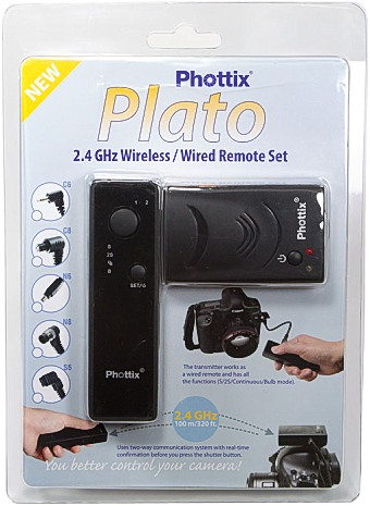 Дистанционный пульт Phottix Plato 2.4GHz