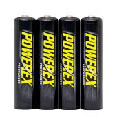 PowerEx (Ready for Use) 4x AAA 1000mAh in box